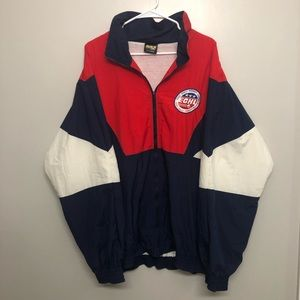East coast hockey league windbreaker jacket vtg